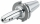 Schüssler Weldon Spannfutter schlank 6 mm, SK 40, DIN 69871, Form AD/B, G6,3 bei 8.000 1/min