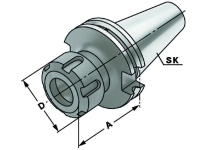 Spannzangen Spannfutter - ER, SK 30, DIN 69871, Form AD, G6,3 bei 15.000 1/min