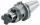 Schüssler Kombi-Aufsteckfräserdorn 27 mm, SK 40, DIN 69871, Form AD/B, G2,5 bei 25.000 1/min