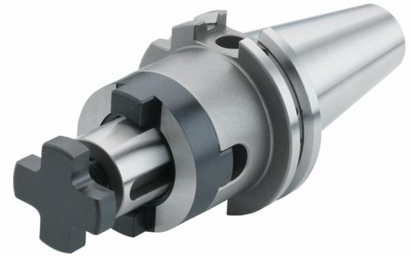 Schüssler Kombi-Aufsteckfräserdorn 27 mm, SK 50, DIN 69871, Form AD/B, G2,5 bei 25.000 1/min