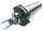 Messerkopfaufnahme mit stirnseitiger Kühlung, SK 40, DIN 69871, Form AD/B, G6,3 bei 15.000 1/min