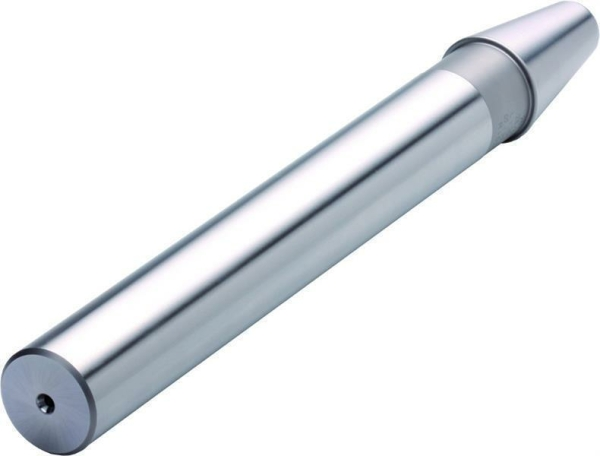 Kontrolldorn SK50 mit Prüfzertifikat, 50x300 mm, Rundlaufgenauigkeit 0,003 mm, DIN 69871, Form A