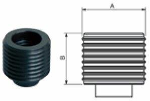 Schraubstock-Einsatz Fresmak ARNOLD Durmak, Größe L, gehärtet, 125/160 mm