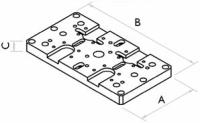 Aufspanneinheit DOPPELDUO Fresmak ARNOLD MAT, 90-200 mm