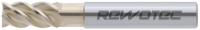 VHM HPC Schaftfräser Typ VA, Z4, 46°, EF, HB