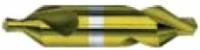 HSS-Co Zentrierbohrer, TiN beschichtet, DIN 333, Form A