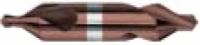 HSS-Co8 Zentrierbohrer, TiAlN beschichtet, DIN 333, Form A