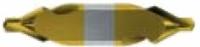 HSS-Co5 Zentrierbohrer, TiN beschichtet, DIN 333, Form A,...