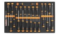 BETA Easy Werkzeugsortiment - Schraubendreher 25-tlg. im...
