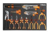 BETA Easy Werkzeugsortiment - Zangen Set 13-tlg. im...