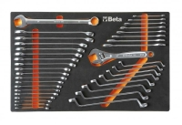 BETA Easy Werkzeugsortiment - Ring-Maulschlüssel,...