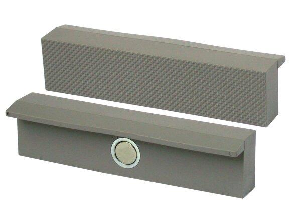 HEUER Magnetfix-Polyurethan Backen mit Riffel, 100 mm, 1 Paar
