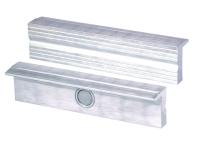 HEUER Magnefixbacke Aluminium Typ N, 100 mm, 1 Paar