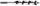 IRWIN Schlangenbohrer 22 mm x 191 mm