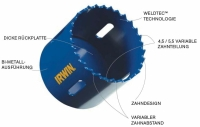 IRWIN Bi-Metall Lochsäge Ø 121 mm