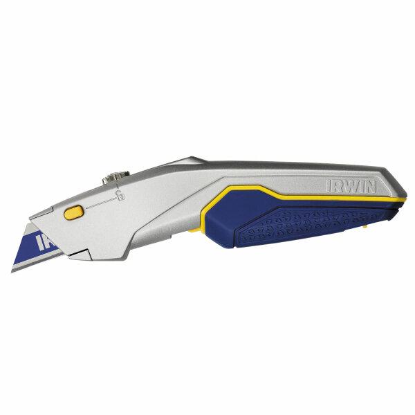 IRWIN ProTouch X Trapezklingenmesser mit einziehbarer Klinge