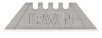 IRWIN 4-Kerben Trapezklingen aus Karbonstahl 1 Pkg. = 5 Stk.