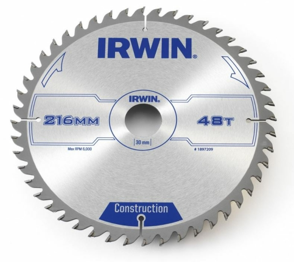 IRWIN Universal-Kreissägeblatt 300x3,2x30 mm, 60 Zähne ATB