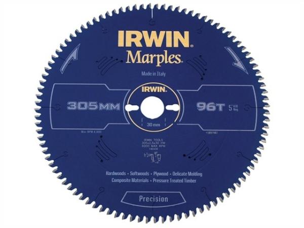 IRWIN Marples HM-Kreissägeblatt 254x2,5x30 mm, 48 Zähne ATB/N