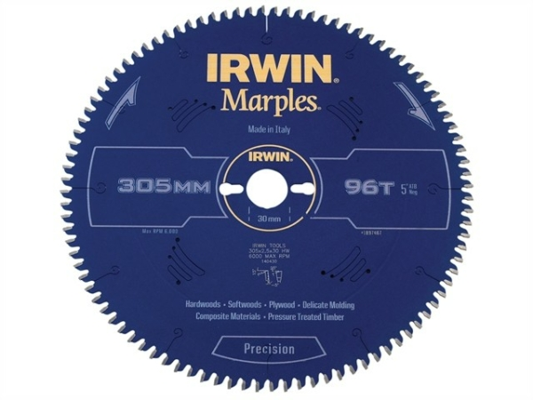 IRWIN Marples HM-Kreissägeblatt 250x3,2x30 mm, 60 Zähne ATB