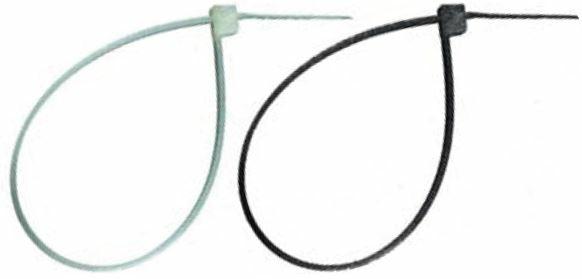 Kabelbinder 4,8x430 mm, schwarz, 100 Stk.
