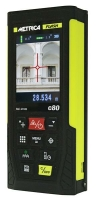 METRICA Laser-Distanzmessgerät Flash C80 mit...