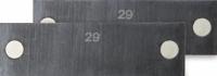 Parallelunterlagen magnetisch, 160 x 22 - 47 x 2,5 mm,...