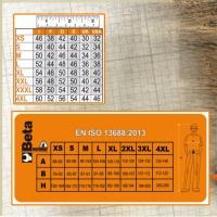 Arbeitshosen, leichte Ausführung, grau/orange