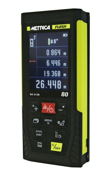 METRICA Distanzmesser FLASH 80