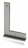 Anschlagwinkel DIN 875, GG 0, rostfreier Stahl
