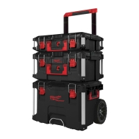 MILWAUKEE Packout Trolley Koffer-Set 3-tlg.
