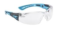 Schutzbrille Bolle Rush+ blau/schwarz, klar