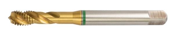HSS-E Maschinengewindebohrer M3 - M20, 35° RSP, 6H, TiN, Form C